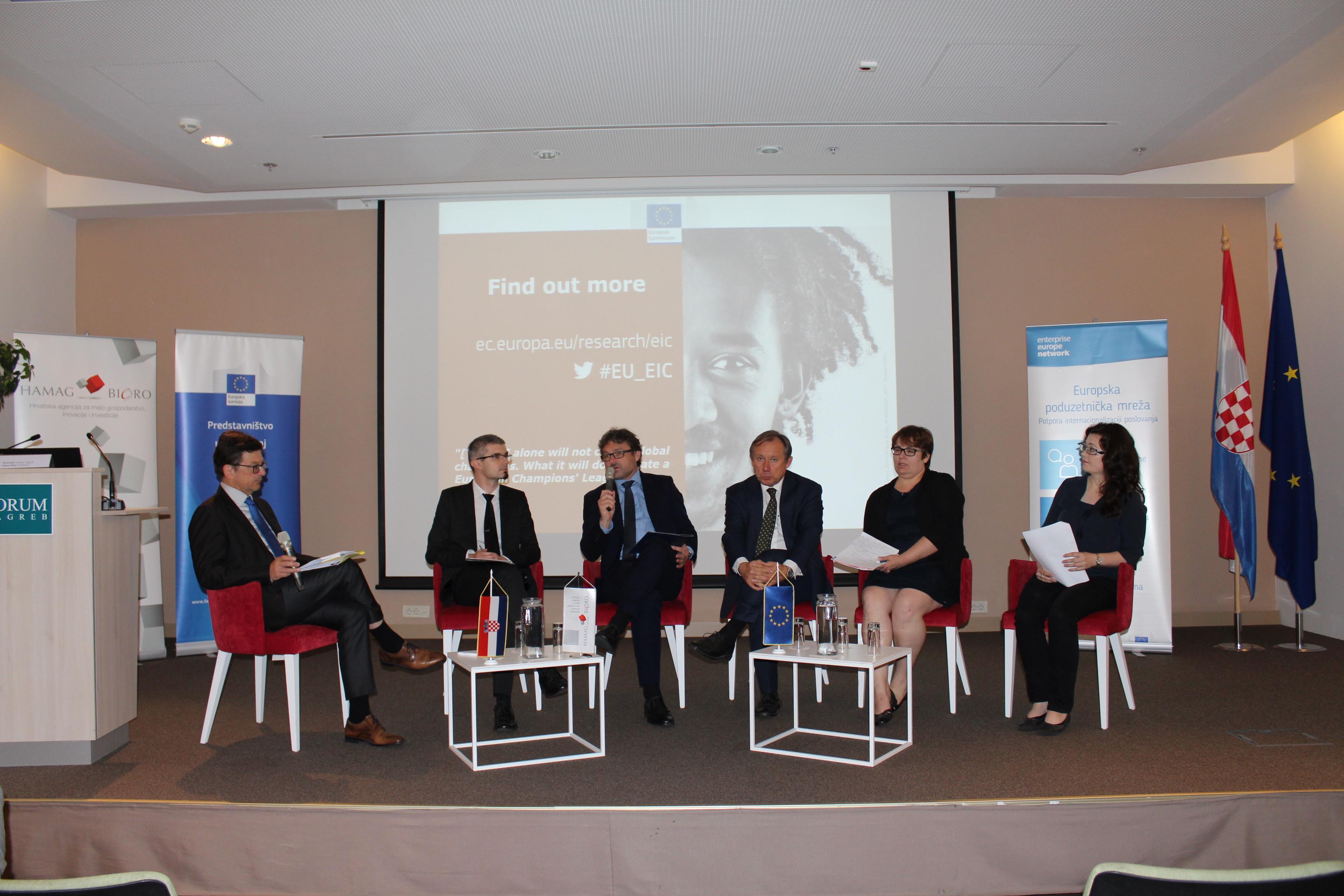 Europska komisija i HAMAG-BICRO predstavili unaprijeđeni model financiranja za inovativne projekte