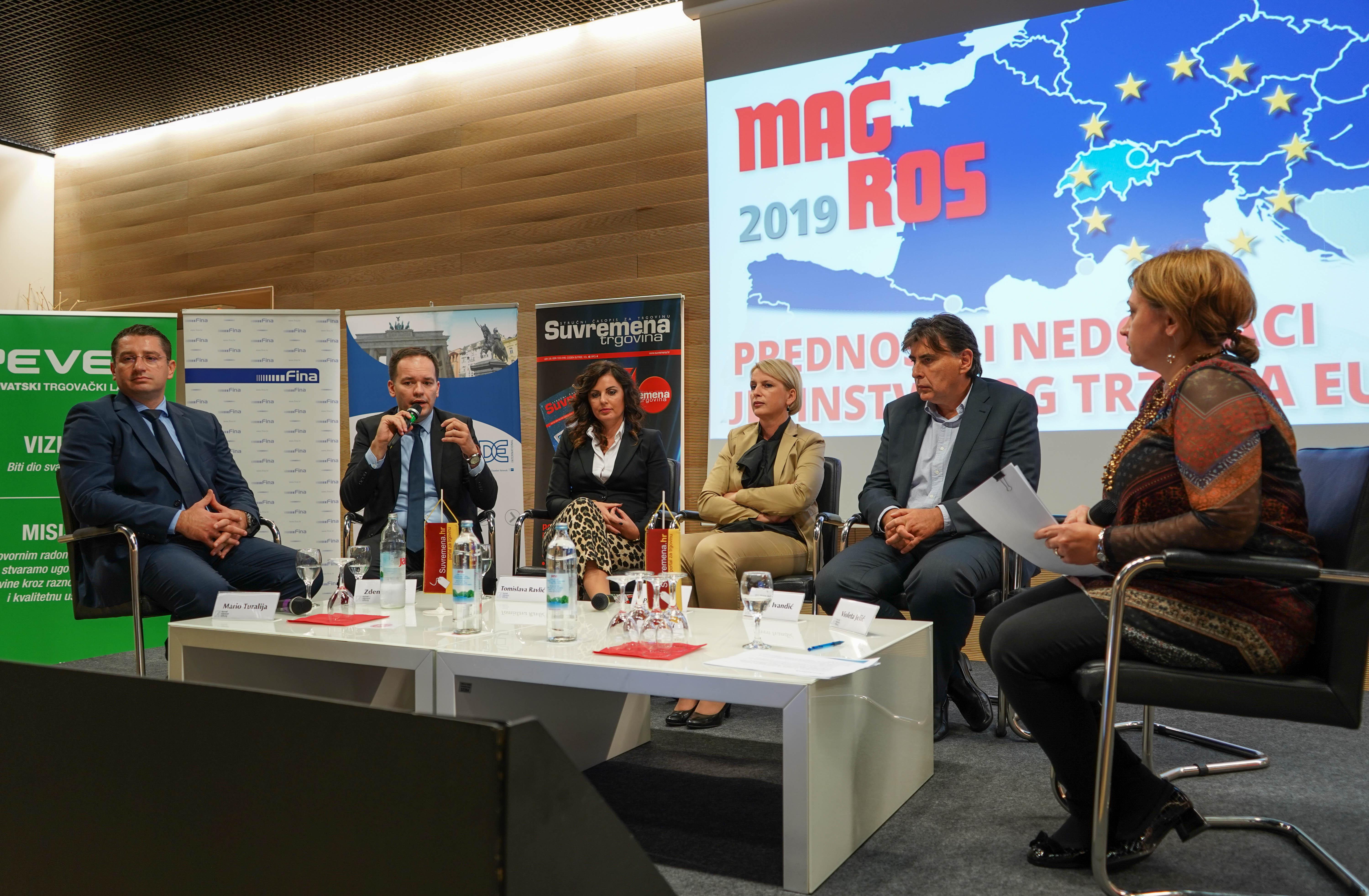 HAMAG-BICRO sudjelovao na 31. konferenciji za proizvođače i trgovce Magros 2019