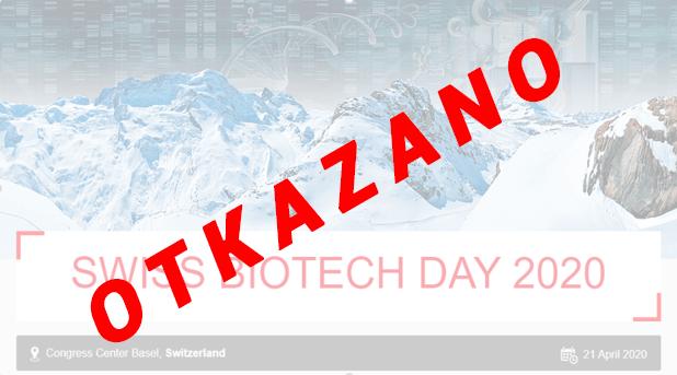 JAVNI POZIV za odlazak na 'B2B' razgovore u sklopu Swiss Biotech Day 2020 u Baselu