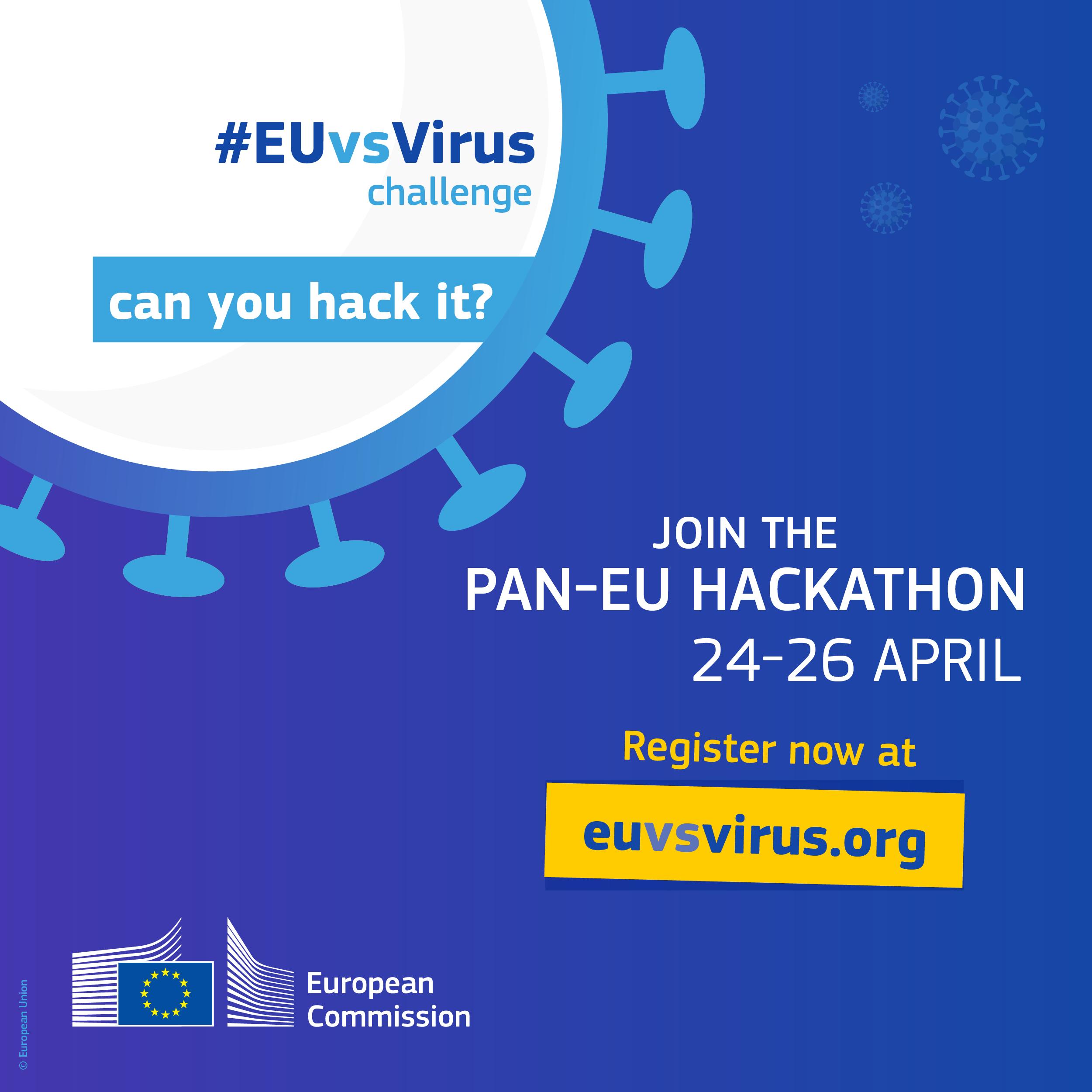 Prijavite se na hackathon #EUvsVirus
