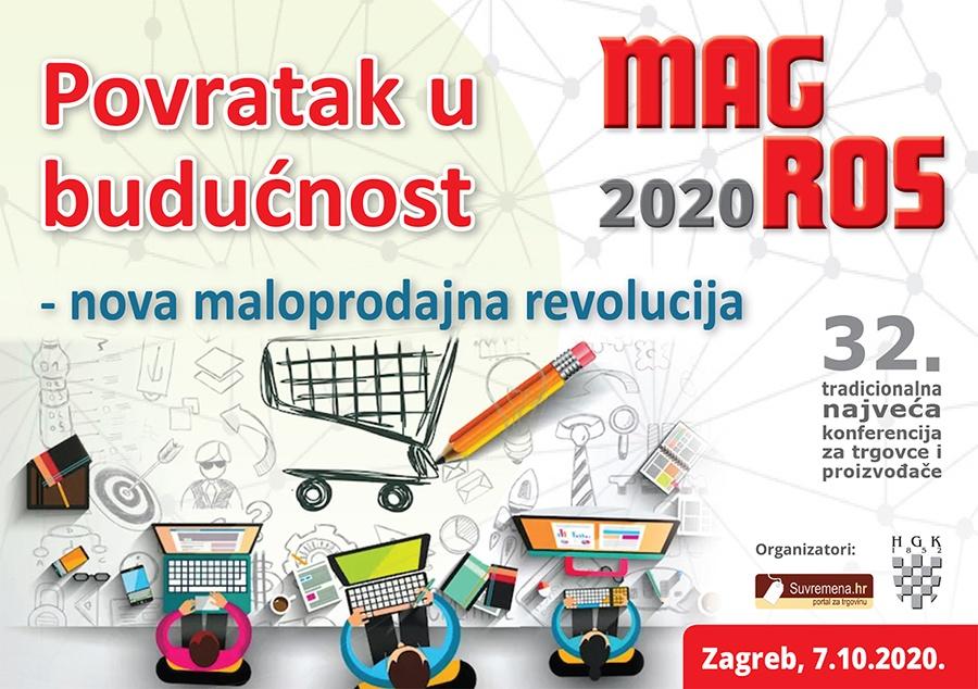 Pozivamo vas na 32. MAGROS konferenciju 7. listopada 2020.