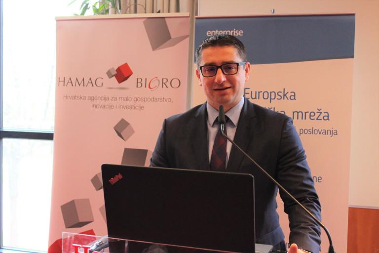 Mario Turalija, zamjenik predsjednika Uprave HAMAG-BICRO-a